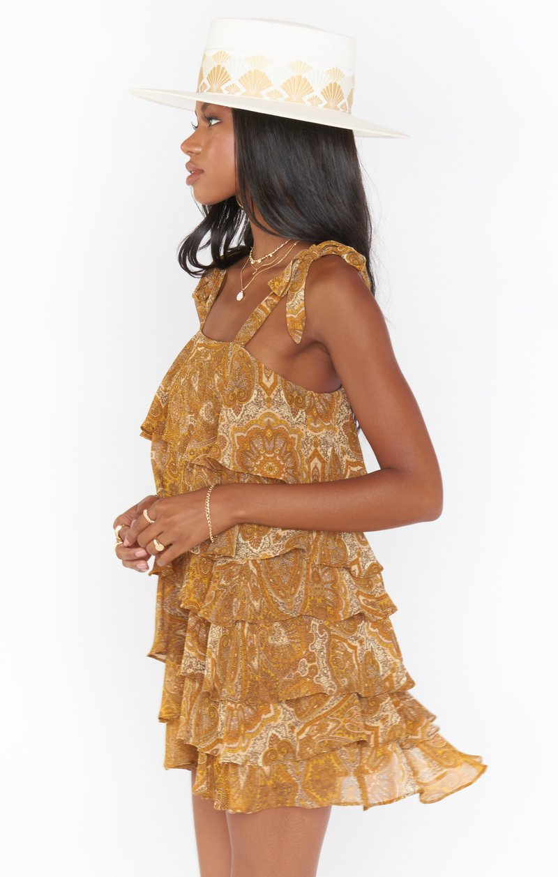 Rowan Ruffle Dress