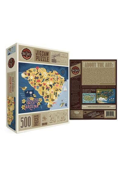 South Carolina 500 Piece Jigsaw Puzzle