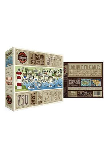 South Carolina Coast 500 Piece Jigsaw Puzzle